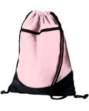 Augusta Drop Ship Tri-Color Drawstring Backpack