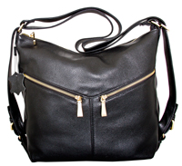 Messina - Leatherbay Small Tote Bag/Black