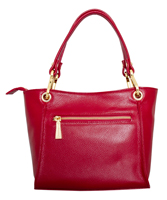 Siena - Leatherbay Shoulder Bag/Dark Red