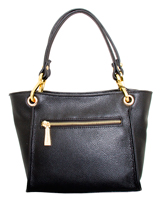 Siena - Leatherbay Shoulder Bag/Black