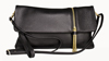 LEATHERBAY BELLA  CLUTCH BLACK
