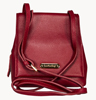LEATHERBAY ORISTANO SHOULDER BAG/ DARK RED