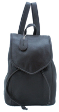 Leather Backpack Small / Dark Chocolate
