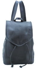 Leather Backpack Small / Black