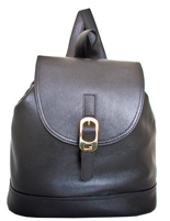 Renata - Leatherbay Backpack/Black