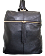 Rosello - Leatherbay Backpack/Black