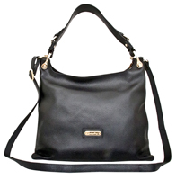 Asmara - Leatherbay Tote Bag /Black