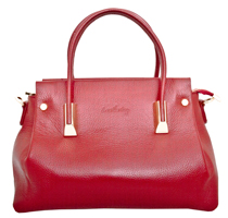 Bellano - Leatherbay Handbag /Dark Red