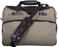Leatherbay Casual Briefcase - Olive/Brown