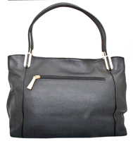 Garda - Leatherbay Tote Bag/Black