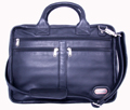 Princeton Leather Briefcase / Black