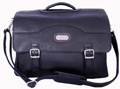 Stanford Leather Briefcase / Black