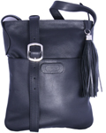 Leatherbay Large Crossbody / Black