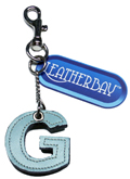 Leather charm / Letter G
